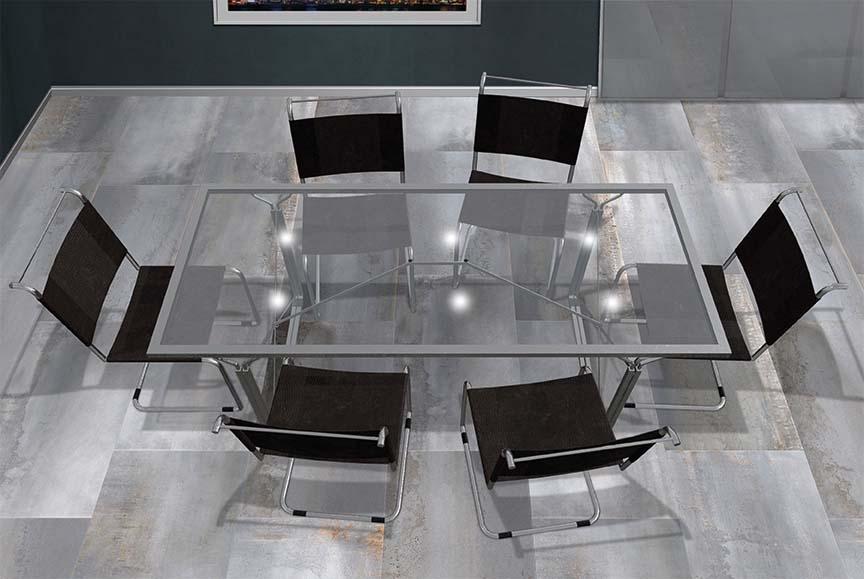 Oxidatio Titanium 60x120 Meetingroom